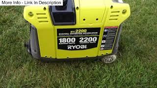 1. Ryi2200 Ryobi Inverter Generator VS Honda EU3000is 2017