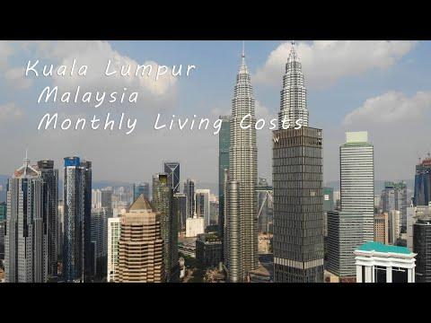 Kuala Lumpur Malaysia Monthly Living Costs