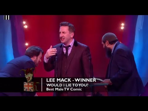 Best Male TV Comic: Lee Mack | British Comedy Awards 2012