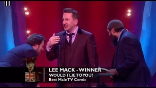 Congratulations Lee Mack for winning the award for Best Male TV Comic!The concept for the Awards was originally devised and produced by British TV legend, Michael Hurll to promote homegrown comedy talent. The original show was presented by Michael Parkinson and winners included VICTORIA WOOD as Best Live Stand-up, PAULINE QUIRKE as Best TV Comedy Newcomer, and DROP THE DEAD DONKEY as the Best New TV Comedy. Other winners included RUSS ABBOTT, CLIVE JAMES & ROWAN ATKINSON.http://www.britishcomedyawards.com/https://twitter.com/comedyawardshttp://www.facebook.com/pages/British-Comedy-Awards/160295097348405