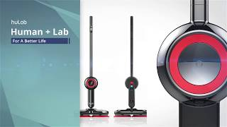 huLab Sterilizing Water Spray Mop youtube