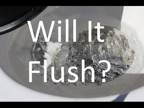 Man tries to flush Liquid Mercury