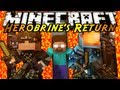 Minecraft: Herobrine's Return Part 1! - YouTube