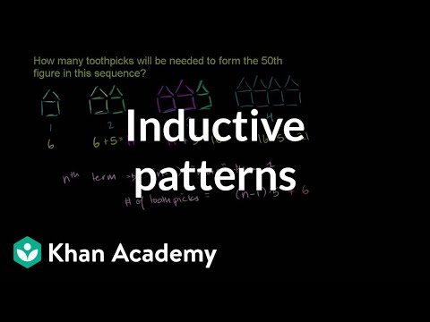 Using Inductive Reasoning Example 2 Video Khan Academy