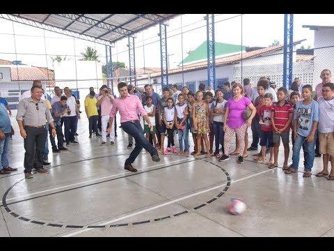 Nova quadra no Jacintinho atenderá mais de 600 estudantes