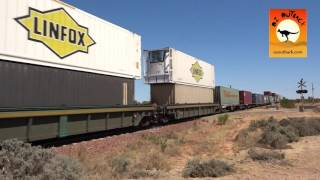 Port Augusta Australia  City pictures : Freight train near Port Augusta, South Australia