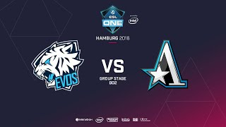Team Aster vs Evos, ESL  One Hamburg, bo2, game 1 [GodHunt]