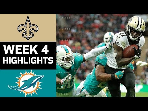 Video: Saints vs. Dolphins | NFL Week 4 Game Highlights