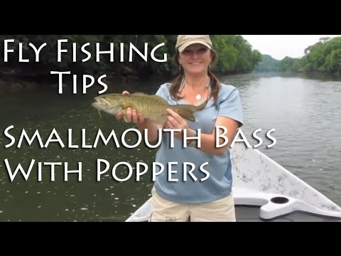 Fly Fishing Tips – Smallmouth Bass with Poppers