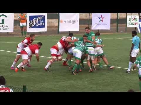 Rugby Tri-nations : résumé du match Algérie-Tunisie (36-13)