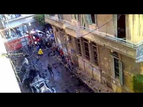 A Look at the Aftermath in Achrafieh