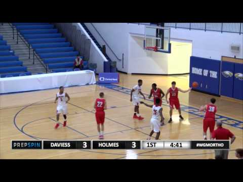Covington Holmes vs. Daviess County - Mclcendon with steal and bucket