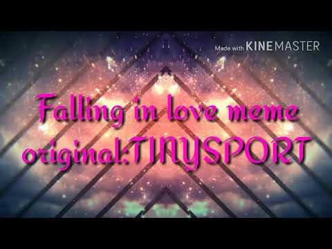 Falling in love meme valentines day