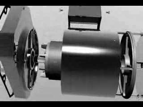 Inside a Bison Gear AC Gearmotor