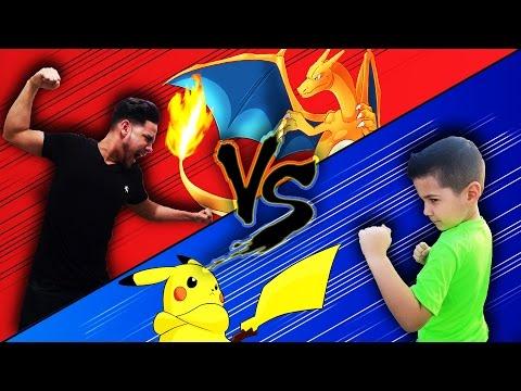 Best Real Life Pokemon Battle Ever! & Pokken Tournament Gameplay