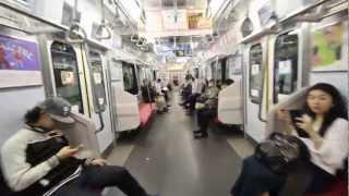 新しくなった東急東横線、代官山駅から渋谷駅