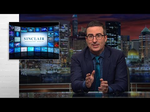 John Oliver Unpacks Why Sinclair's Massive Media Merger Is A Scary BFD