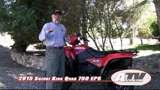 7. ATV Television - 2015 Suzuki King Quad 750 Test