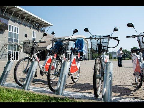 Inauguracja systemu rowerów miejskich