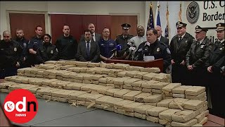 Federal agents seize huge amount of cocaine in Philadelphia