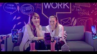 1st LIVE Instagram Interview by the RCC Secretary General, Majlinda Bregu with Emina Basic at Homework Hub in Sarajevo, 14 November 2019