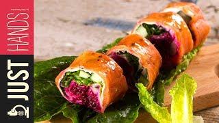 Salmon Tortilla Rolls | Akis Kitchen by Akis Kitchen