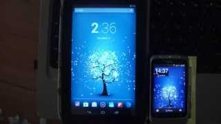 Winter Snow Live Wallpaper YouTube video