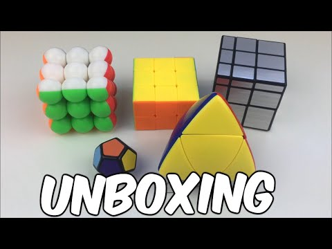 Unboxing 5 Cubes | 1x1 Megaminx, Cubestyle 3x3x2 And More!
