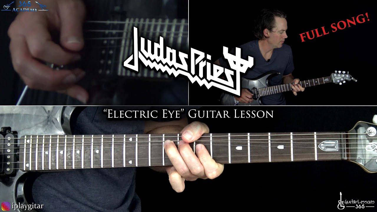 Judas Priest – Electric Eye Guitar Lesson (Full Song)
