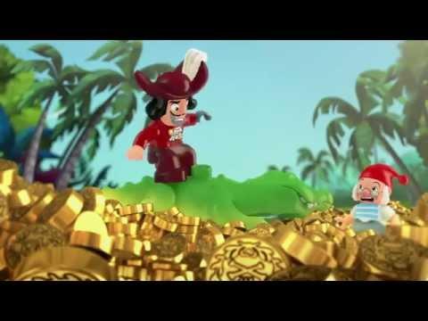 Jake's Buccaneer Blast : The Never Land Pirate Pieces of Eight! - LEGO DUPLO - Season 1, Episode 8