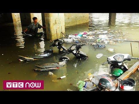 TP.HCM: Dân khổ sở vì hầm gửi xe ngập nước - Thời lượng: 91 giây.