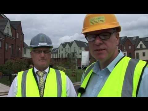Solar panels made easy for Barratt Homes