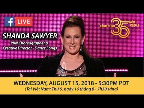 Livestream với Cô Shanda Sawyer - August 15, 2018 - Thời lượng: 1 giờ, 7 phút.