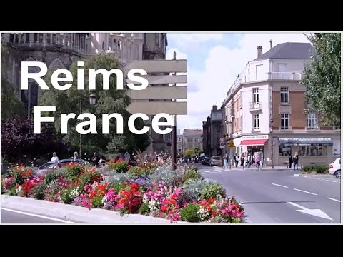 Cathedral Notre-Dame de Reims in France, LVBO Travel Videos