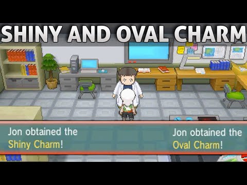 Pokemon ORAS: How To Get The Shiny Charm and Oval Charm! (Omega Ruby Alpha Sapphire)