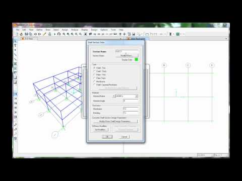 Bldg - Model a 3D building using SAP. This video is supplemental to the Earthquake Design class at CSU Chico, Department of Civil Engineering . Other videos can be ...