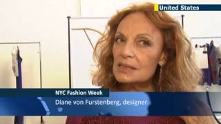 Diane Von Furstenberg Shines At New York Fashion Week With Celebration Of Iconic Wrap Dress