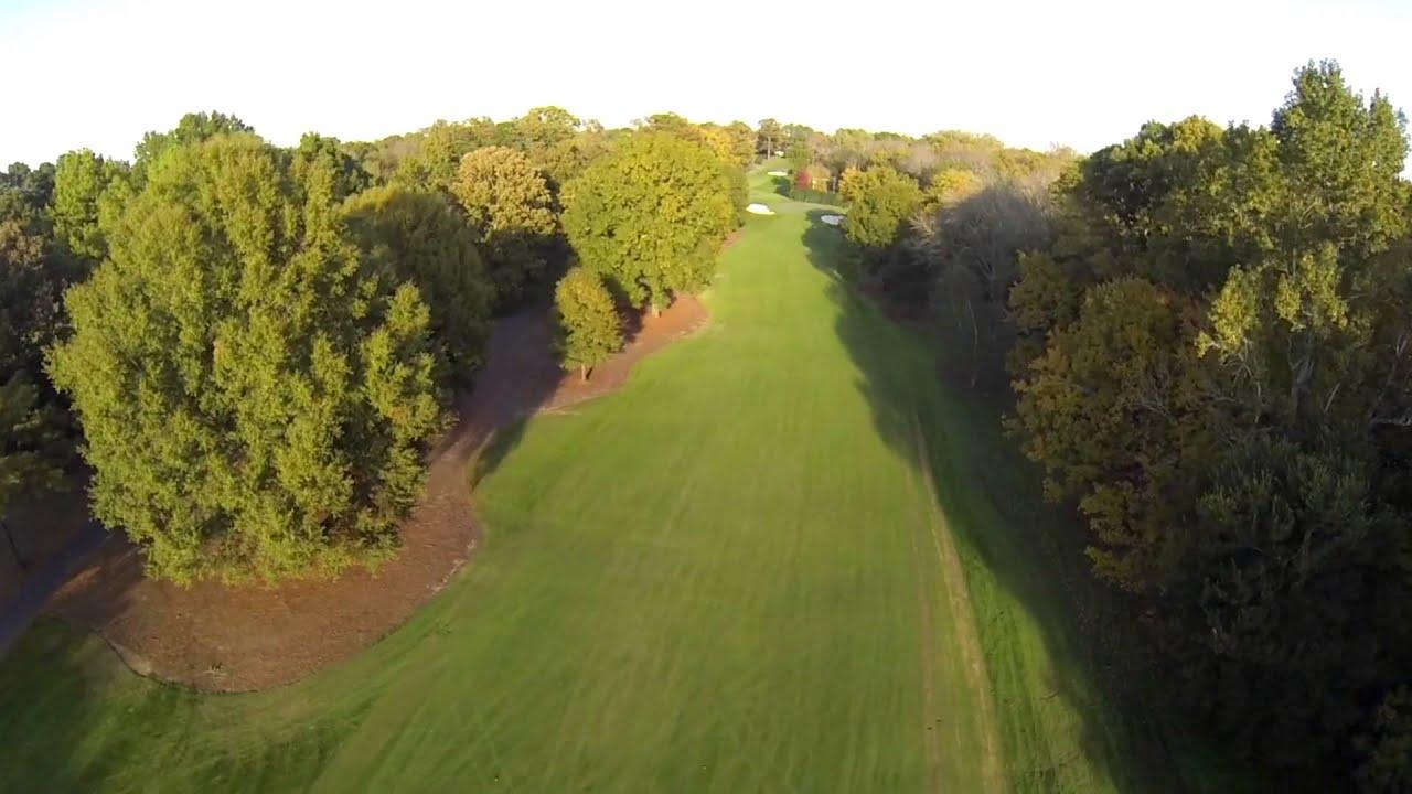 Camera Flyover Hole 12 – Wells Fargo Championship 2014