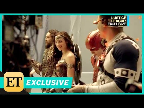 Go Behind the Scenes of 'Justice League' With Gal Gadot and Jason Momoa (Exclusive)