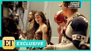 Video Go Behind the Scenes of 'Justice League' With Gal Gadot and Jason Momoa (Exclusive) MP3, 3GP, MP4, WEBM, AVI, FLV Januari 2018