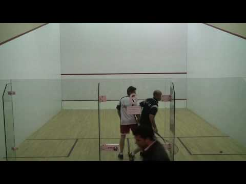 Exhibition Squash – Game 1 Stefan Castelyn vs. Jonathon Power