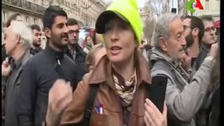 «Scènes de guerre» à Paris : les manifestations de Gilets jaunes sèment le chaos