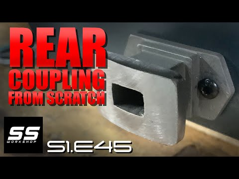 Fell Engine Project - Rear Coupling S1.E45 (Live Steam Locomotive Building)