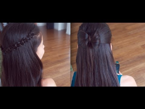 hairstyle - Simple 4 Back to School Hair Styles anyone can Rock :D Hope it was pretty self explanatory without the voice over . Which one was your FAVORITE Style?!! Musi...