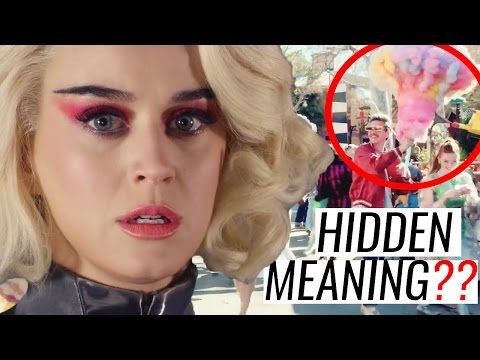 HIDDEN MEANINGS | KATY PERRY - Chained To The Rhythm (Official Video)   Analysis