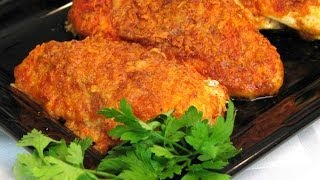 Lynn demonstrates how to make a super easy and quick chicken recipe perfect for dinner. ½ cup grated Parmesan Cheese 4...