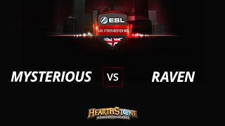 RavenHS vs MysteriousHS, game 1