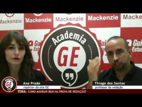 Academia GE: Como mandar bem na prova de redação?