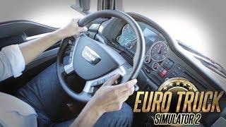 Vamos de EURO TRUCK SIMULATOR 2 CARGA PESADA , com o volante Logitech G27. ME SIGA NAS REDES SOCIAIS...