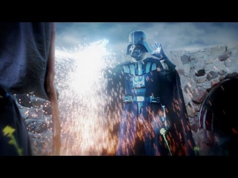 Darth Vader - WATCH BATMAN vs WOLVERINE VIDEO HERE!!! http://www.youtube.com/watch?v=UuKQ3Oc97Wk&feature=plcp like us on facebook: http://www.facebook.com/batinthesun foll...